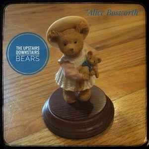 ❤️3/$15 Upstairs Downstairs Bears Alice figurine